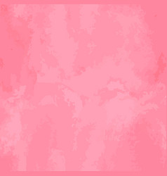 Seamless watercolor pattern pink aquarelle vector