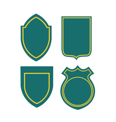 Set badge collection vector