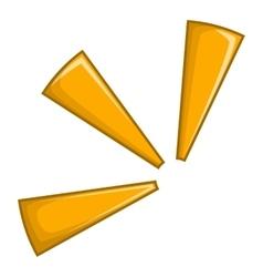 Click icon cartoon style vector image