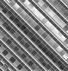 High grade steel background vector image