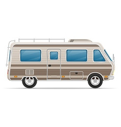 Car mobile home 01 vector