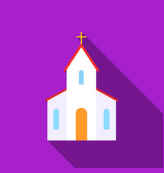 Church icon of for web and vector