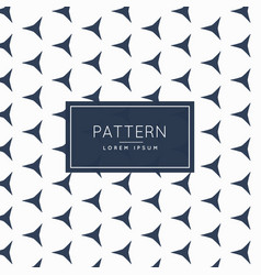 Clean abstract shapes pattern design vector