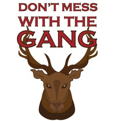 Gang of Elk vector