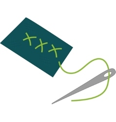 needle icon Tailor and Sewing graphic vector image