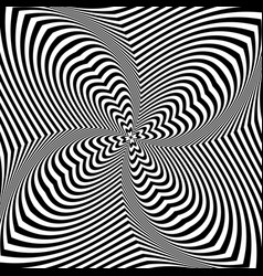 op art design vector image