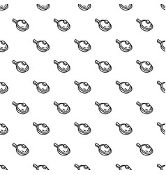 sauce pan pattern seamless vector image