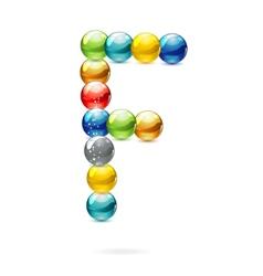 shiny and reflections colored circles symbol vector image