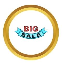 Big sale design icon vector image vector image