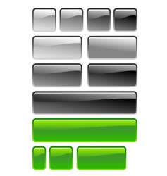 square button vector image vector image