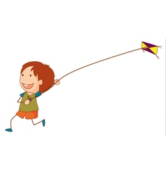 Kite vector image vector image