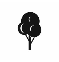 Autumn tree icon simple style vector