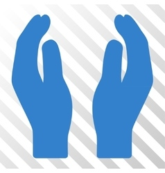 Care Hands Icon vector