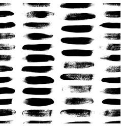 grunge dash lines seamless pattern vector image