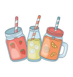 Tasty refresh cartoon vector