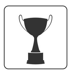 Trophy cup icon 16 vector
