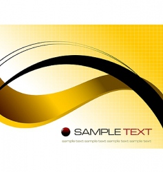 yellow abstract background composition vector image