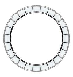 film tape frame vector image vector image