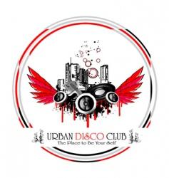 urban discoteque vector image vector image