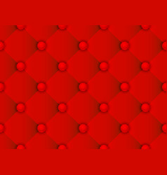 upholstery red pattern vector image vector image