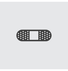 Bandage icon vector