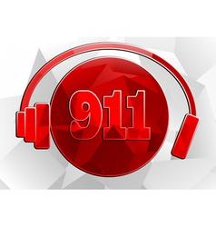 Icon 911 vector