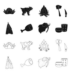 Isolated object evolution and neolithic symbol vector
