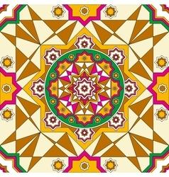 Oriental ornate seamless pattern Ethnic bright vector image