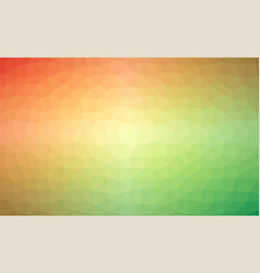 abstract rainbow colorful lowploly of many vector image