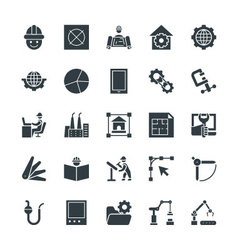 Engineering Cool Icons 3 vector image
