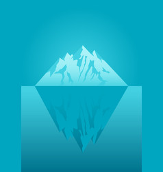An iceberg vector