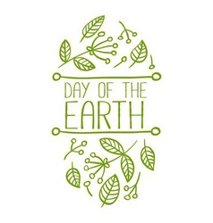 Day of the Earth Banner vector