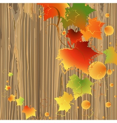 Foliage backdrop wood vector