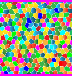 glass colorful mosaic background vector image