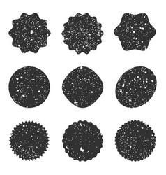 grunge stamp texture vector image