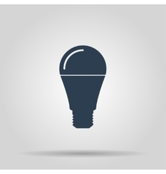 LED lamp icon vector image
