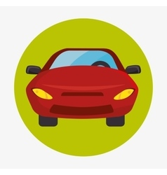 Parking or park zone design vector image