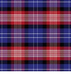 seamless Scottish pattern Saint Andrews Tartan vector image