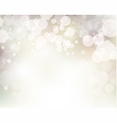 Soft abstract bokeh lights background vector