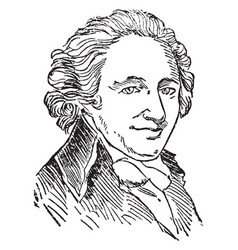 Thomas paine vintage vector