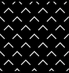 Tile black and white triangle pattern vector