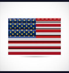 USA siding produce company icon vector