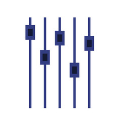 Volume mixer icon vector