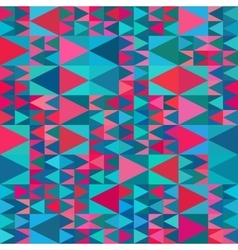 Seamless Geometric Blue Pink Shades vector image vector image