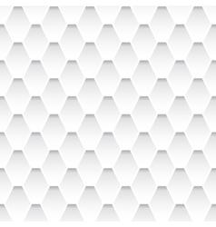 White seamless rhombus pattern vector image vector image