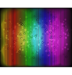 Abstract blurred glowing background with sparks vector image