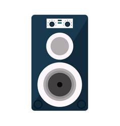 musical speaker audio stereo vector image