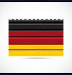 Germany siding produce company icon vector image vector image
