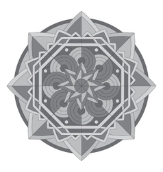Circular pattern or mandala vector image