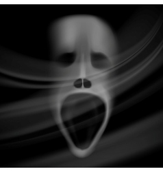 Ghost face vector
